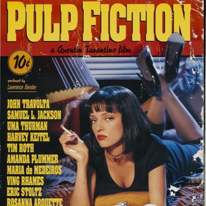 "John Travolta ""Pulp Fiction"" Signed Print"