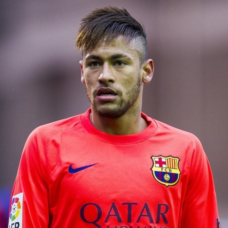 78c1ad9fb4a Neymar s Barcelona Match Shirt