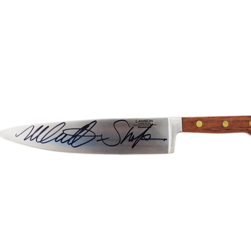 "Nick Castle ""Michael Myers"" Signed Halloween Replica Knife"