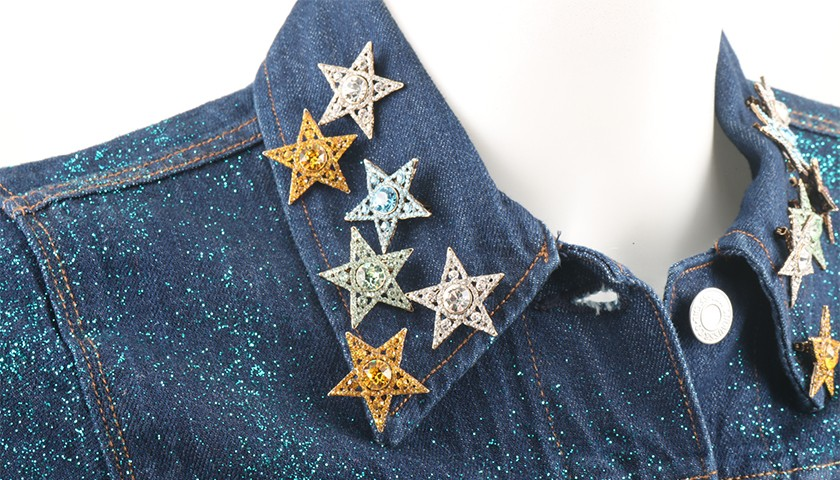 Levi's® Trucker Jacket Personalized by Janet Fischietto for Rolling Stone