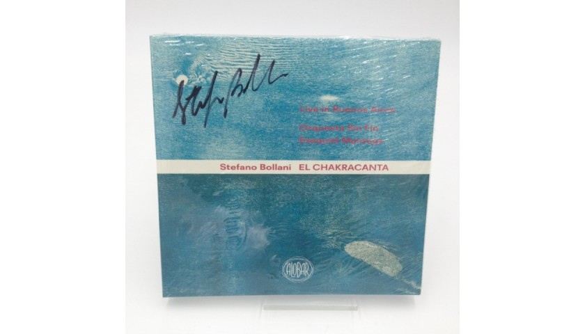 """""""El Chakracanta. Live in Buenos Aires"""" CD - Signed by Stefano Bollani"""