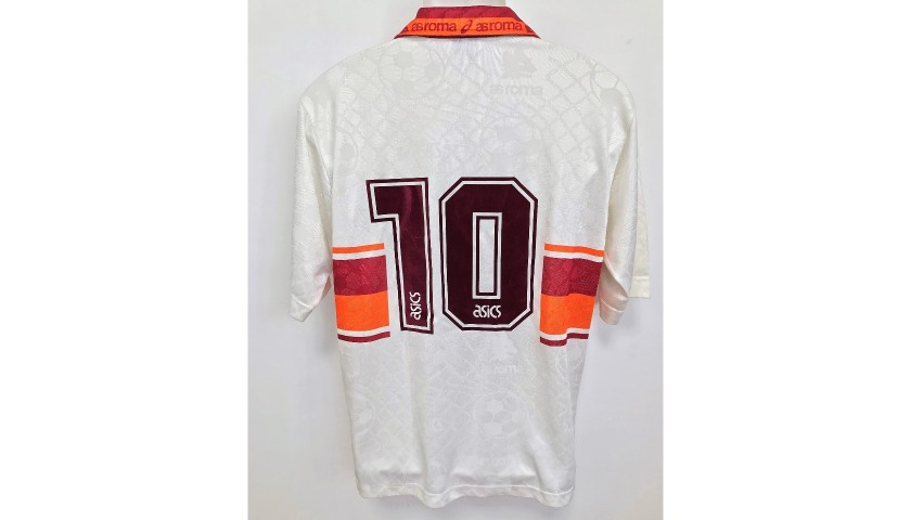 Giannini's Roma Match-Issued Shirt, 1994/95