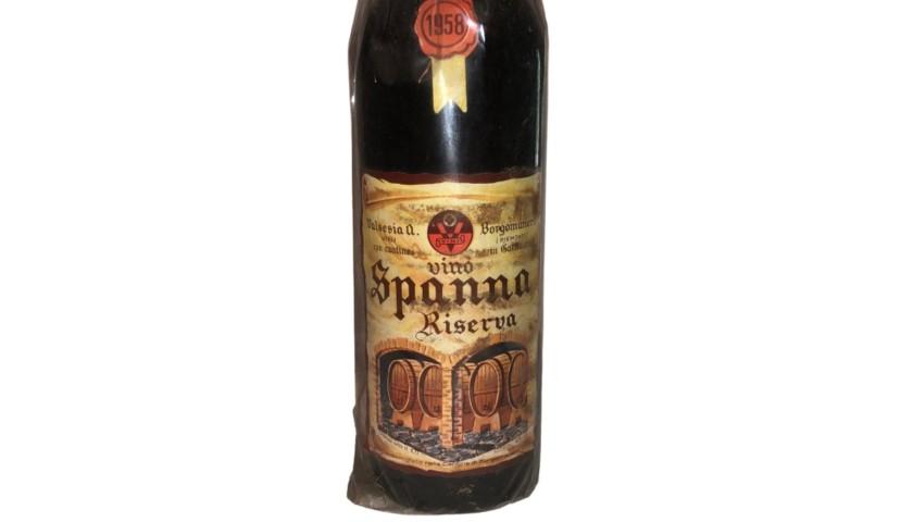 Bottle of Gattinara di Spanna, 1958  - Cantine Borgo