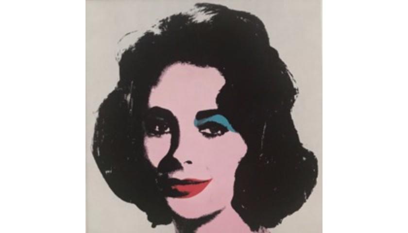 """Liz Taylor"" by Andy Warhol"
