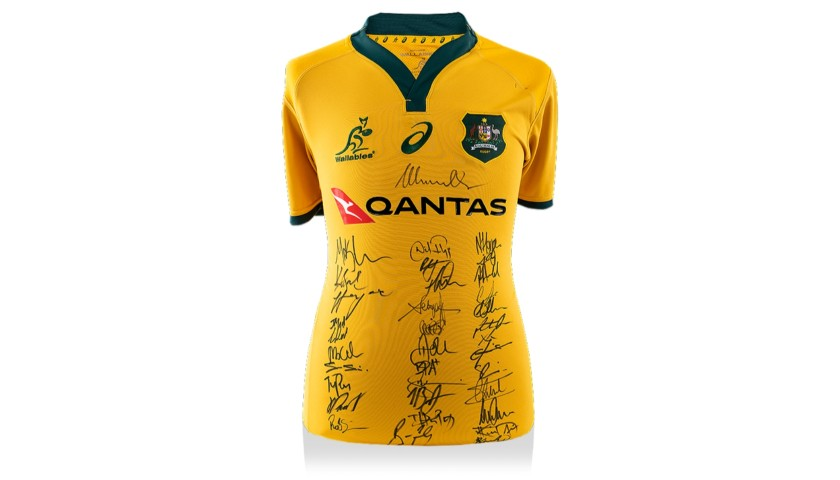 Australia Rugby Jersey – Multiple Signed