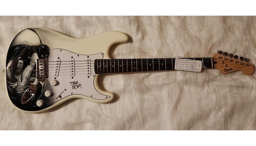 Trent Reznor Signed Guitar