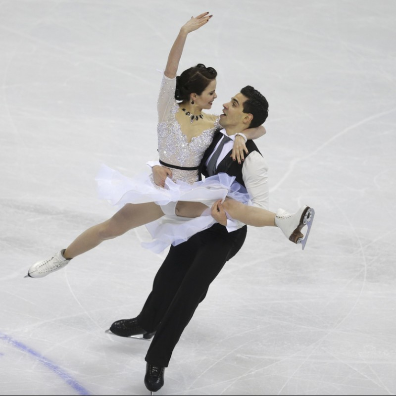 2 Tickets to the Free Dance at the 2018 World Figure Skating Championships