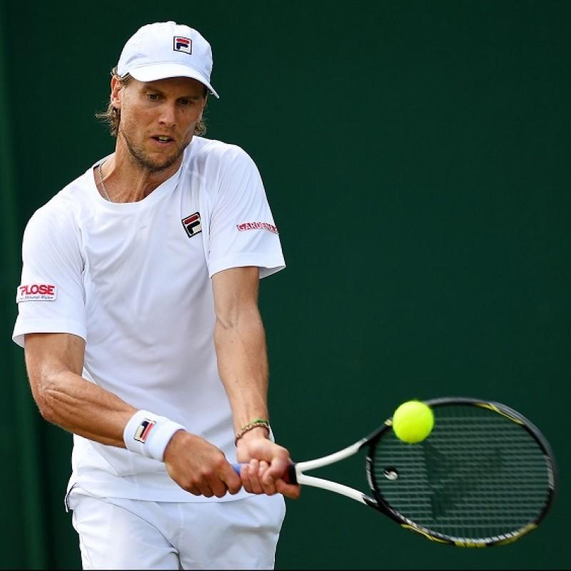 Andreas Seppi's Pro Kennex Signed Tennis Racquet, ATP Parigi Bercy 2014
