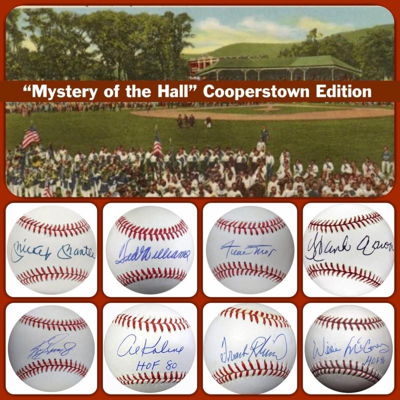 Baseball Hall of Fame Mystery Box