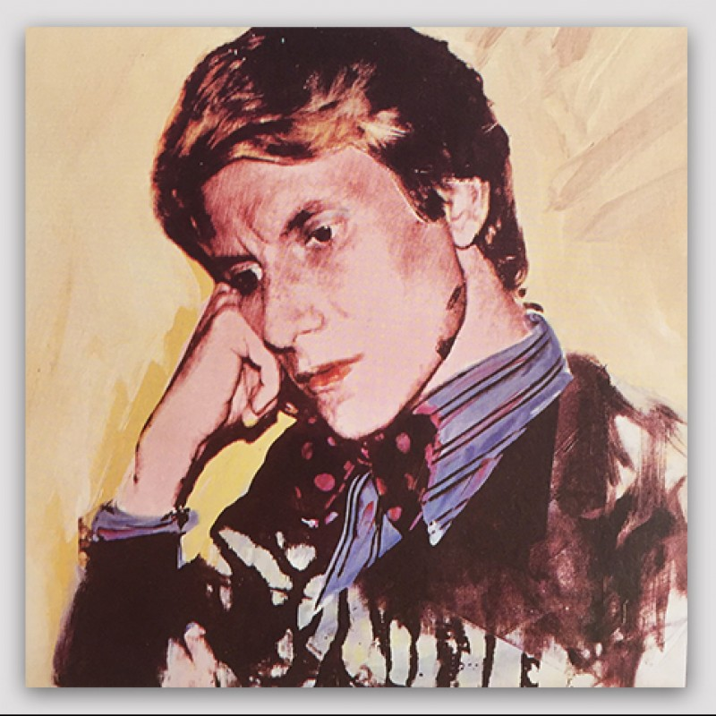 """Yves Saint Laurent"" by Andy Warhol"