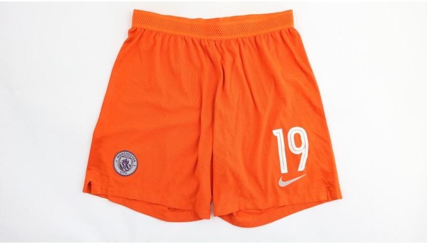 Sané's Manchester City Match Shorts, Champions League 2018/19