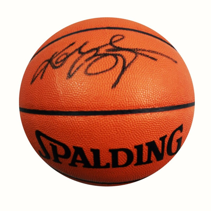 Kobe Bryant Hand Signed NBA Basketball
