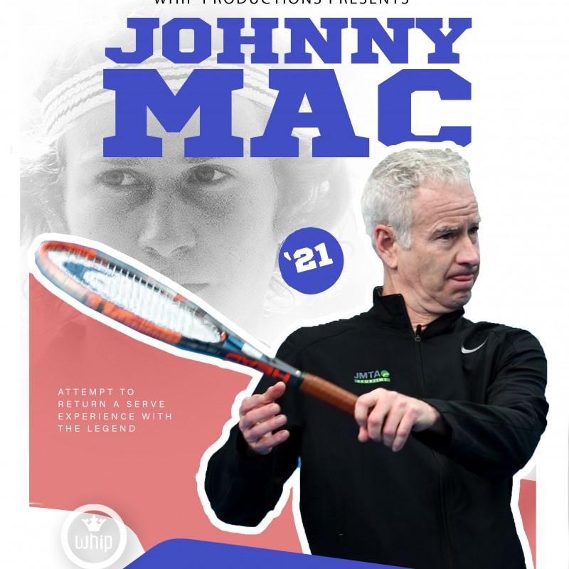 The 'John McEnroe Challenge' Experience