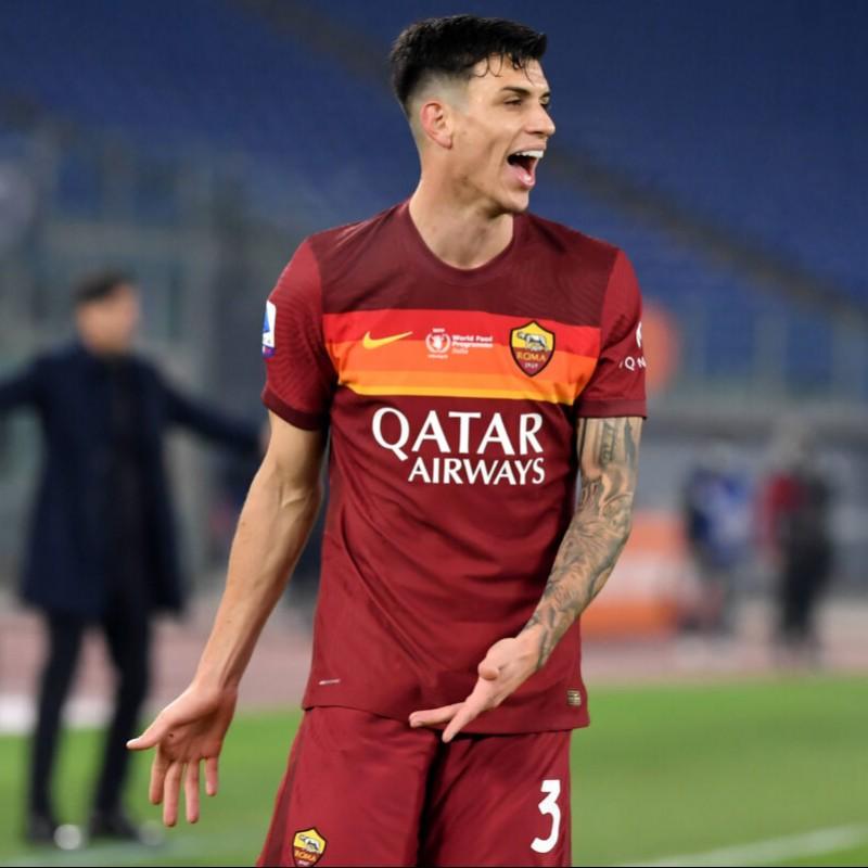 Ibanez's Worn Shirt, Roma-Torino - WFP Special