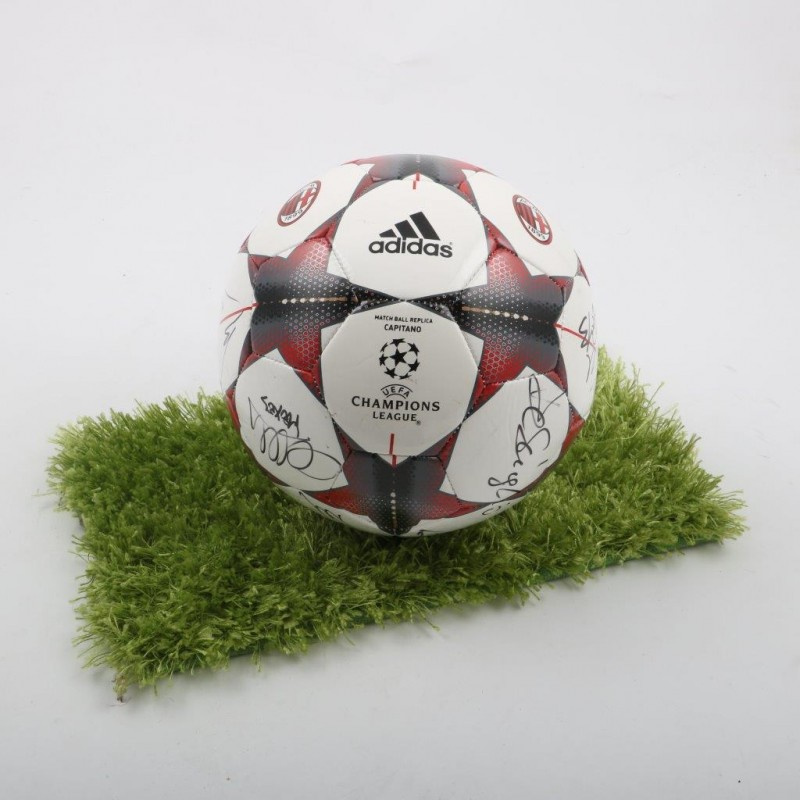Official A.C. Milan Football signed by all the players