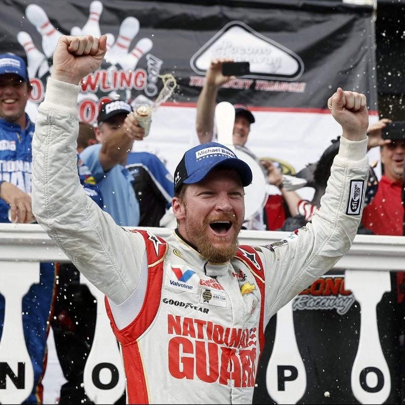 Dale Earnhardt Jr. Signed NASCAR Mini-Helmet
