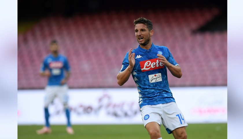 Mertens' Official Napoli Signed Shirt, 2018/19