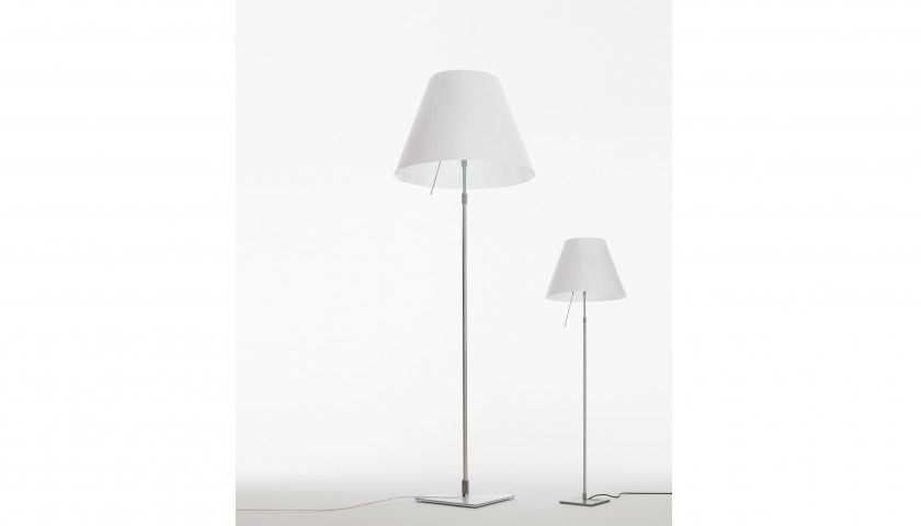 Grande Costanza Floor Lamp Designed by Luceplan