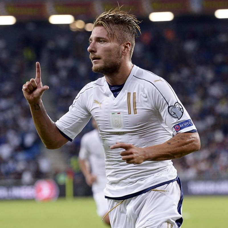 Immobile's Match Shirt, Israel-Italy 2016