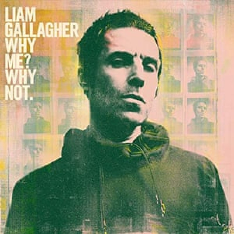 """Liam Gallagher Hand Signed """"Why Me? Why Not."""" Presentation"""