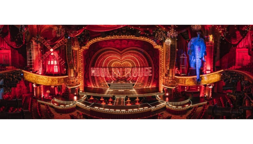 200,000 American Airlines Miles + Two tickets to Moulin Rouge! The Musical