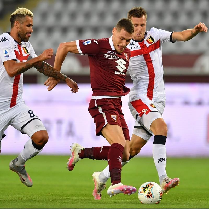 Belotti's Official Torino Signed Shirt, 2019/20