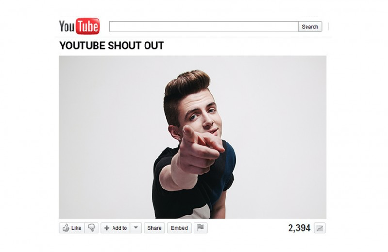 YouTube Shoutout
