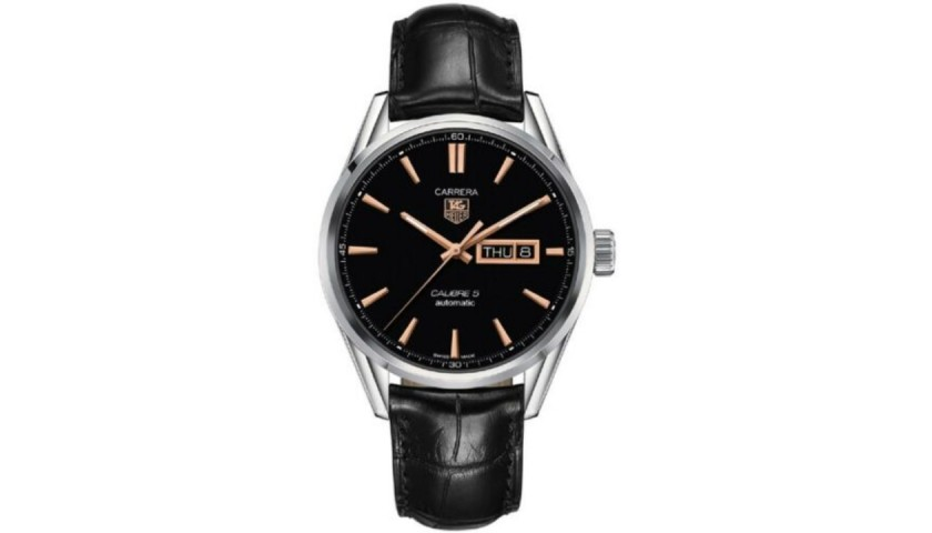 TAG Heuer Men's Carrera with Rose Gold Index