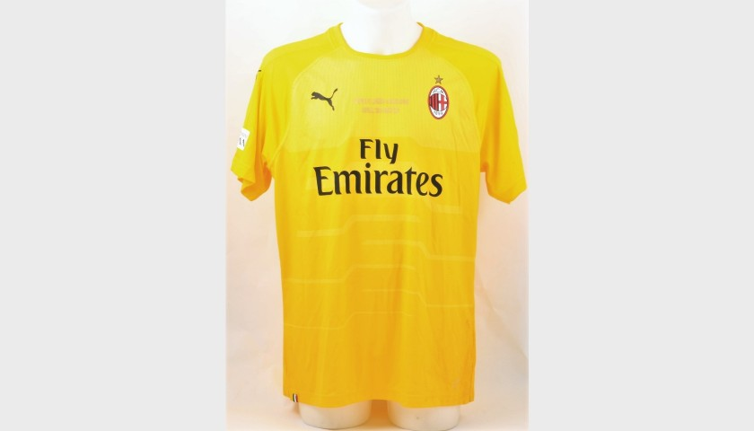 huge selection of 7ebb3 8e47c Dida's Worn and Signed Shirt, Liverpool- AC Milan 2019 - CharityStars