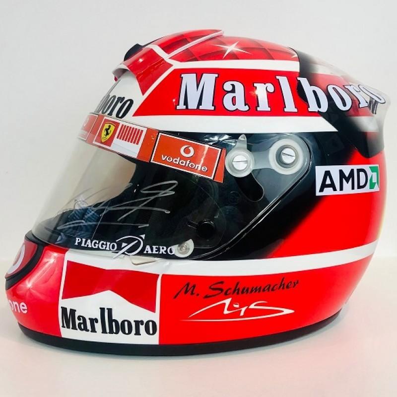 Michael Schumacher Signed Official Replica Schuberth Helmet