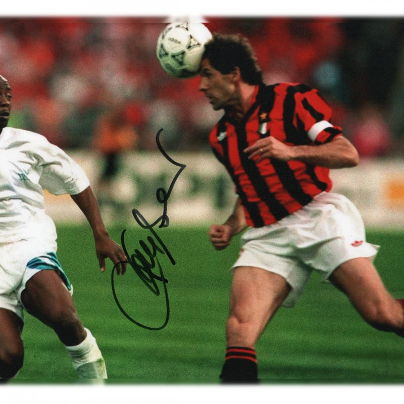 Franco Baresi Signed Photograph