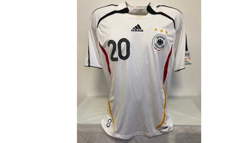 Podolski's Official Germany Signed Shirt, 2006