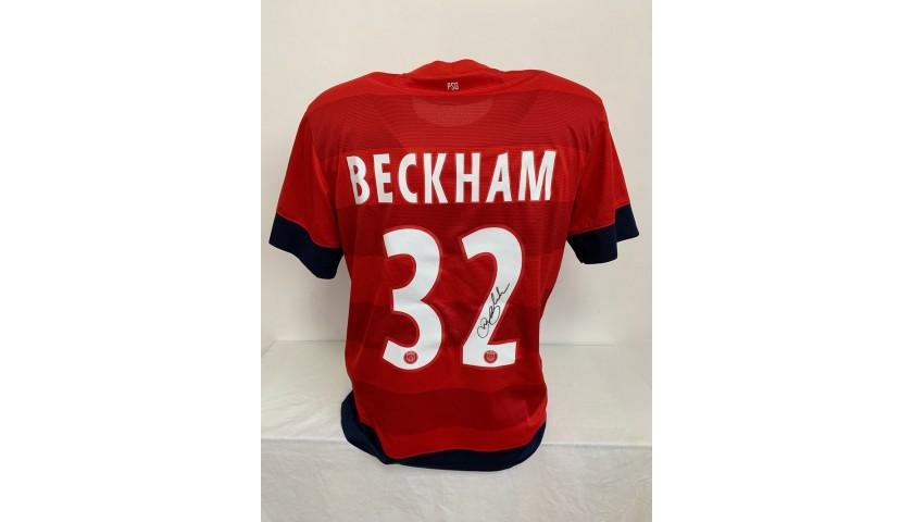 Beckham's Official PSG Signed Shirt, 2013/14