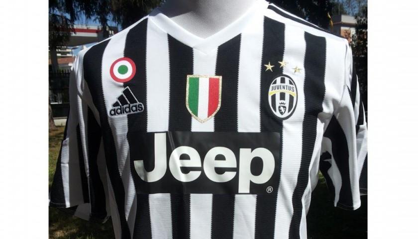 Official Dybala Juventus shirt, Serie A 2015/2016 - signed