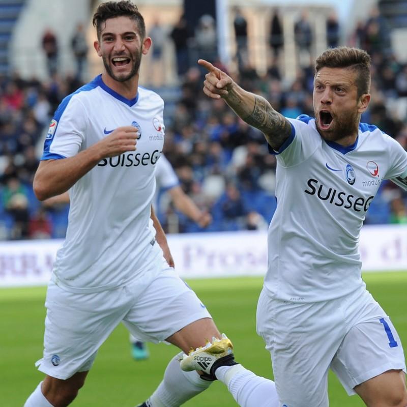 Papu Gomez Match Worn Shirt, Atalanta-Milan 17/12/16