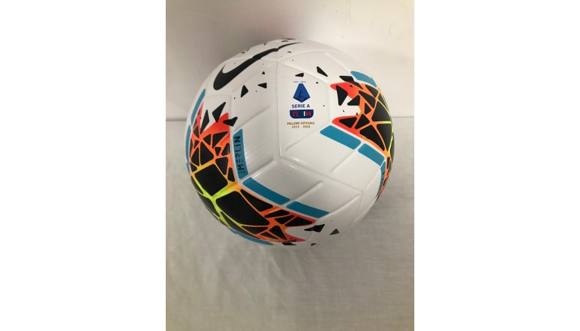 Match-Ball Juventus-Lazio 2020 - Signed by Ronaldo