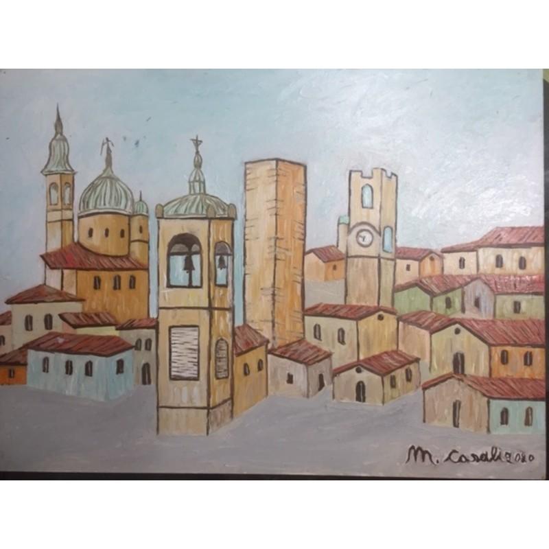 """""""Bergamo Città Alta"""" by Casali Mosè, 2020 #4"""