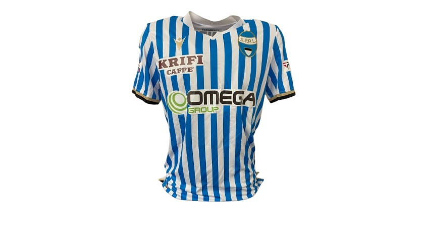 Valdifiori's Spal Match Shirt, 2019/20