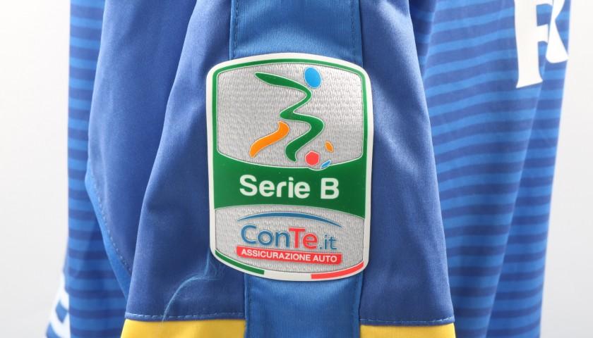 Maglia Zappino indossata Frosinone-Ascoli, Serie B 2017/18 ...