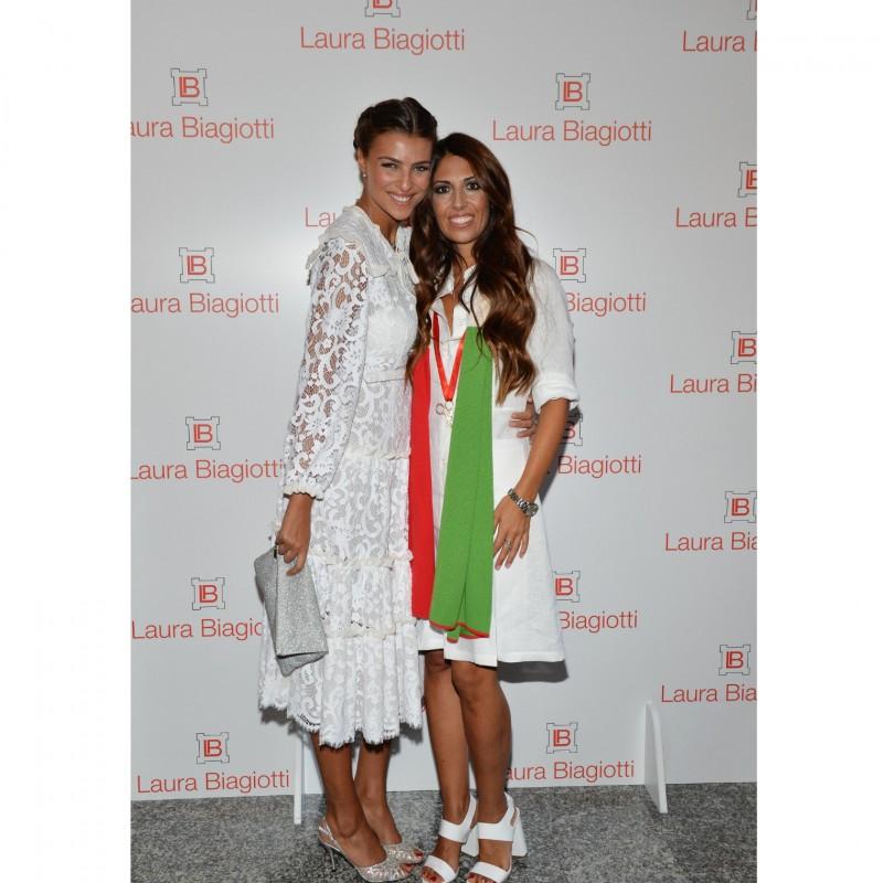 Attend the Laura Biagiotti S/S 2019 Fashion Show with Cristina Chiabotto