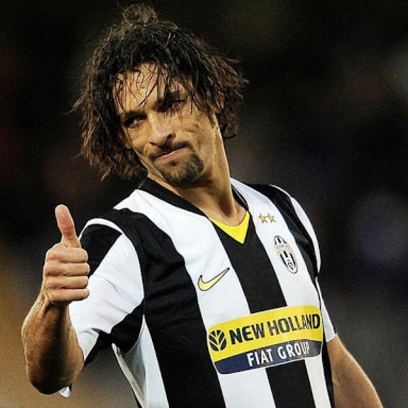 Amauri's Match-Issued Shirt, Juventus-Lazio 2009