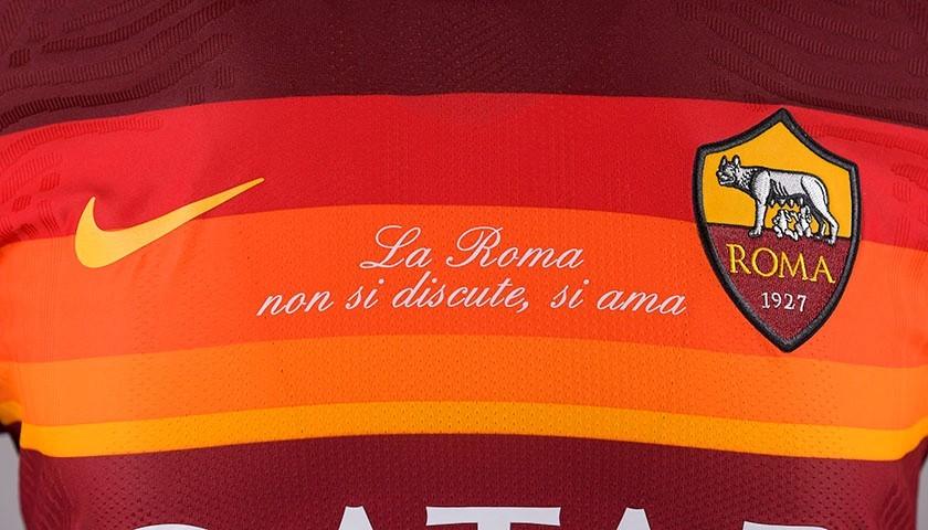 "Ibanez's Worn Shirt, Roma-Samp 20/21 - ""La Roma non si discute, si ama"""