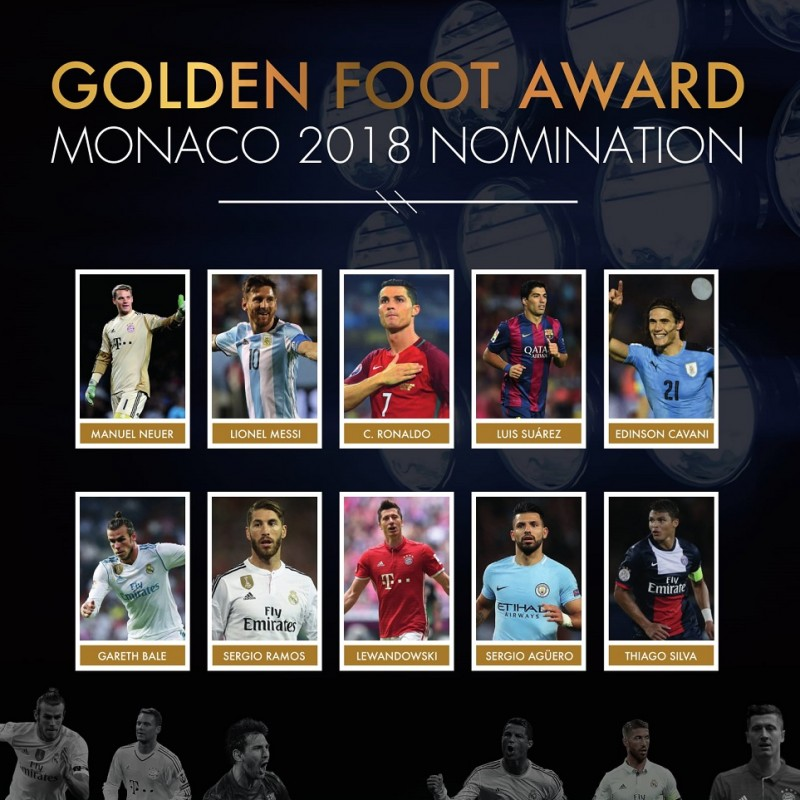 Attend the Golden Foot Gala Dinner and Spend the Night in Monte Carlo