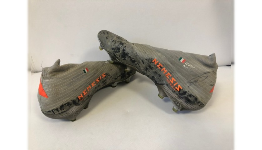 Adidas Boots Worn and Signed by Immobile, 2019/20