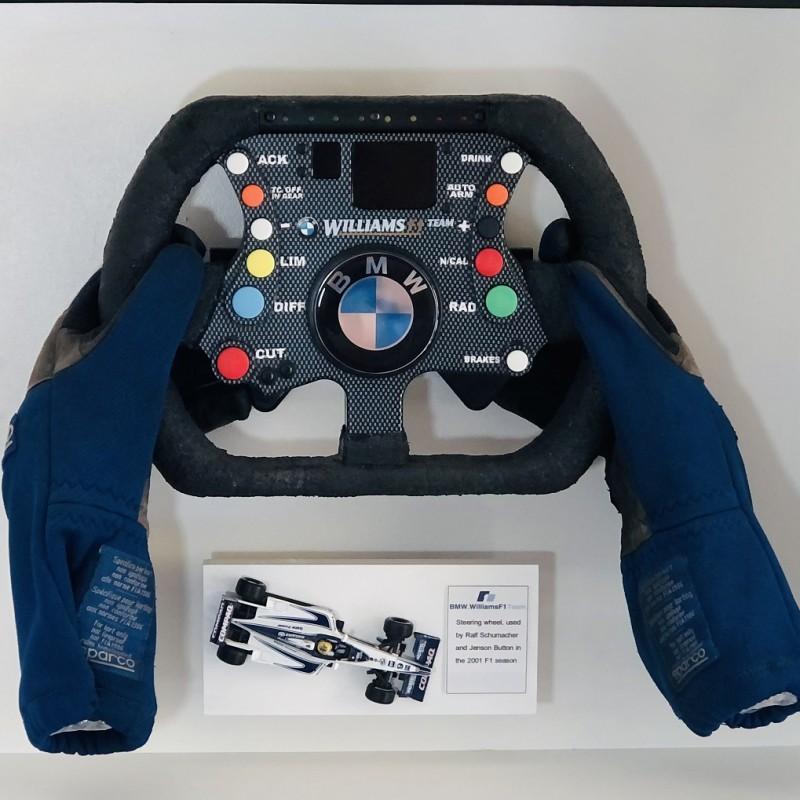 BMW Williams F1 Steering Wheel 2000