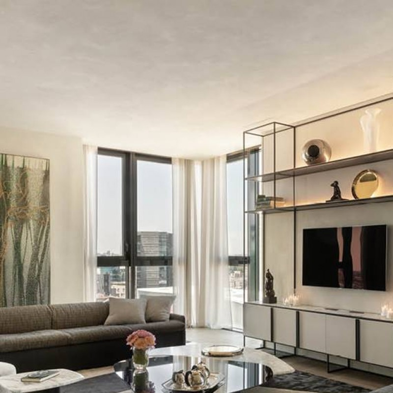 2-Night Stay in an Apartment in the Aria Tower in Milan