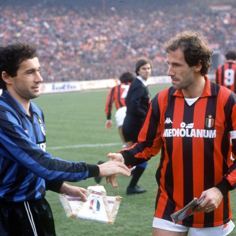 Official Milan Pennant - Signed by Franco Baresi