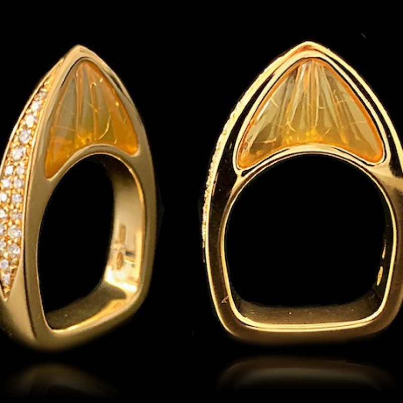 """Ala"" Ring by Scavia"