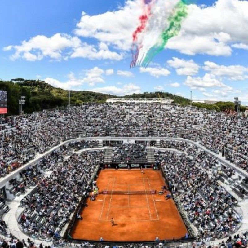 "2 Tickets for the Italian Tennis Open ""Internazionali BNL d'Italia"" 2020"