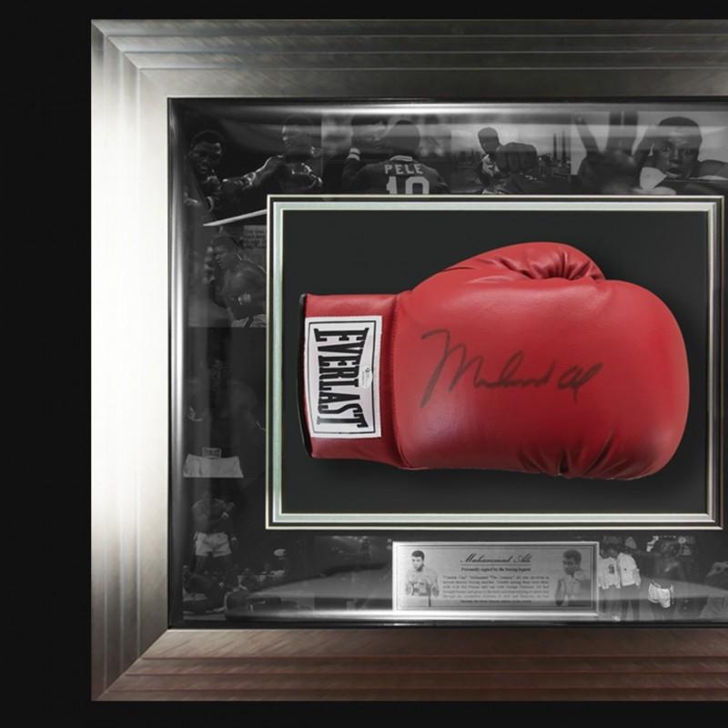 Hand Signed Muhammad Ali Everlast Boxing Glove